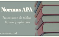 formato apa tablas, figuras y apendices
